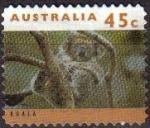 Stamps : Oceania : Australia :  AUSTRALIA 1993 Scott 1279 Sello Animales Koala en Arbol Usado Michel 1407