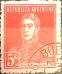 Sellos del Mundo : America : Argentina : 5 cents. 1923