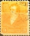 Stamps Argentina -  Intercambio 0,30 usd 3 cents. 1895