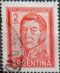 Stamps Argentina -  Intercambio 0,20 usd 2 pesos 1961