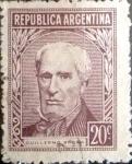 Sellos del Mundo : America : Argentina : 20 cents. 1956