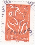 Stamps France -  Marianne de Lamouche