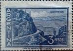 Sellos de America - Argentina -  Intercambio 0,20 usd 3 pesos 1960