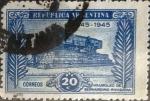 Sellos de America - Argentina -  Intercambio 0,20 usd 20 cents. 1945