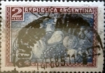 Sellos de America - Argentina -  Intercambio 0,20 usd 2 pesos 1936