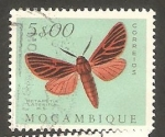 Stamps : Africa : Mozambique :  434 - Mariposa