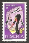 Stamps : Africa : Nigeria :  183 - Cigüeñas