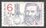 Stamps : Europe : Czech_Republic :  148 - 150 anivº del nacimiento del inventor Frantisek Krizik