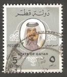 Stamps : Asia : Qatar :  Emir Cheikh Khalifa
