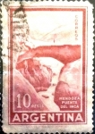 Sellos de America - Argentina -  Intercambio 0,20 usd 10 pesos 1960