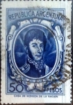 Stamps : America : Argentina :  Intercambio 0,40 usd 50 pesos 1965