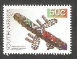 Stamps South Africa -  1557 - Artesania con perlas, un avión