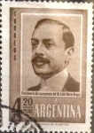 Sellos de America - Argentina -  Intercambio 0,20 usd 4,20 pesos 1960