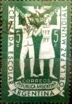 Sellos del Mundo : America : Argentina : Intercambio 0,20 usd 5 cents. 1947
