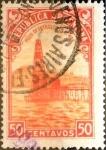 Sellos de America - Argentina -  Intercambio 0,20 usd 50 cents. 1936