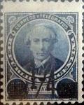 Sellos del Mundo : America : Argentina : Intercambio daxc 0,50 usd 1/4 cents. 1890