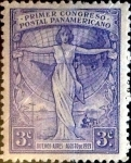 Stamps : America : Argentina :  3 cents. 1921