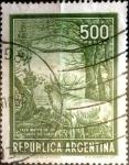Stamps Argentina -  Intercambio 0,30 usd 500 pesos 1966