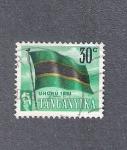 Sellos del Mundo : Africa : Tanzania : Bandera de Tangañika