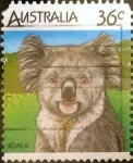 Stamps Australia -  Intercambio 0,55 usd 36 cents. 1986