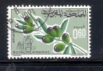 Stamps Morocco -  Olivo