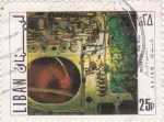 Stamps Lebanon -  industria