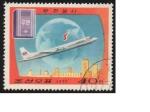 Sellos del Mundo : Asia : Corea_del_norte : avion