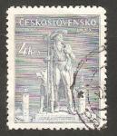 Sellos de Europa - Checoslovaquia -   426 - 250 anivº de la ejecución de Jan Sladky Kozina