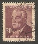 Stamps Czechoslovakia -  492 - Pavel Orszagh Hviezdoslav, escritor