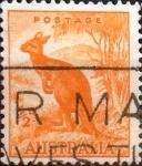 Sellos de Oceania - Australia -  Intercambio 0,60 usd 1/2 p. 1942
