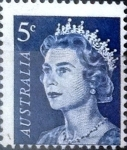 Stamps Australia -  Intercambio 0,20 usd 5 cents. 1967