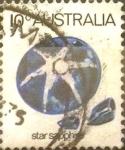 Stamps Australia -  Intercambio 0,20 usd 10 cents. 1974