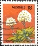 Stamps Australia -  Intercambio 0,20 usd 18 cents. 1975