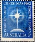 Sellos de Oceania - Australia -  Intercambio 0,20 usd 5 p. 1963