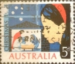 Stamps Australia -  Intercambio 0,20 usd 5 p. 1964