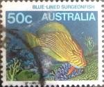 Sellos de Oceania - Australia -  Intercambio 0,60 usd 50 cents. 1984