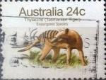 Sellos de Oceania - Australia -  Intercambio 0,35 usd 24 cents. 1981