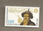 Stamps Germany -  Adam Schall