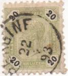 Stamps Austria -  Y & T Nº 61