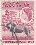Sellos de Africa - Kenya -  Tanganyka