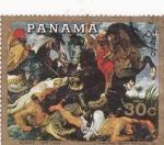 Stamps Panama -  Pintura Rubens
