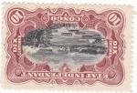 Stamps Republic of the Congo -  cataratas en el río Congo