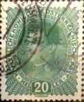 Sellos de Oceania - Austria -  Intercambio 0,30 usd 20 heller 1917