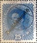 Sellos del Mundo : Oceania : Austria :  Intercambio ma4s 0,20 usd 25 heller 1917