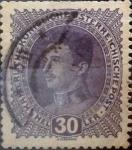 Stamps Austria -  Intercambio 0,20 usd 30 heller 1917