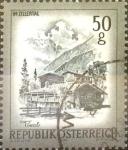Sellos de Europa - Austria -  Intercambio 0,20 usd 50 g. 1975