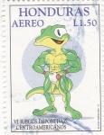 Stamps Honduras -  VI juegos deportivos centroamericanos