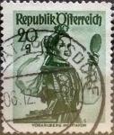 Stamps : Europe : Austria :  Intercambio 0,20 usd 20 g. 1948