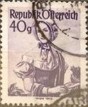 Sellos de Europa - Austria -  Intercambio 0,20 usd 40 g. 1948