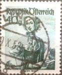 Sellos de Europa - Austria -  Intercambio 0,20 usd 40 g. 1949